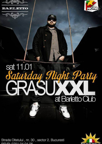 Saturday Night Party - Grasu XXL