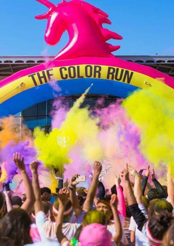 The Color Run Dream Tour