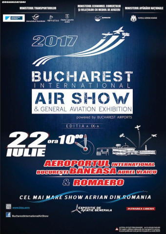 Bucharest International Air Show BIAS 2017