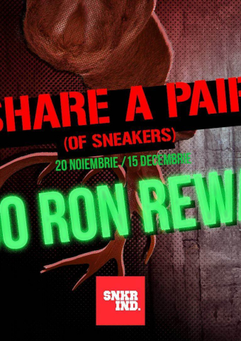 Share a Pair of Sneakers
