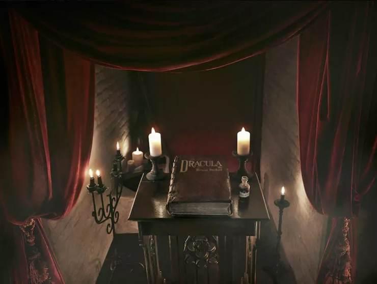 Dracula si prietenii sai cazati in cosciuge la Bran, de Halloween