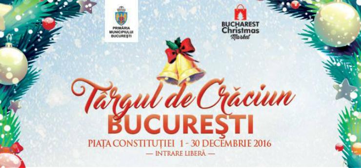 Targul de Craciun Bucuresti 2016