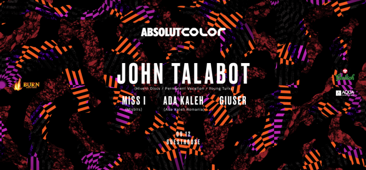 COLOR - John Talabot, Miss I, Ada Kaleh, Giuser
