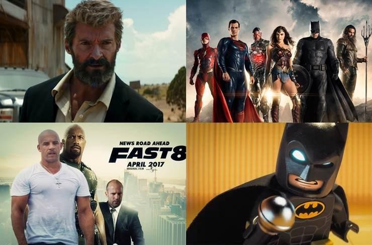 Ce filme sa vezi si sa te minunezi in 2017