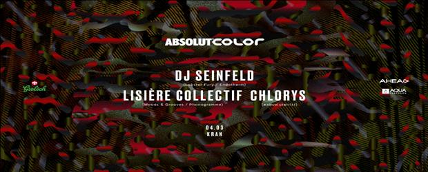 COLOR - DJ Seinfeld, Lisière Collectif, Chlorys