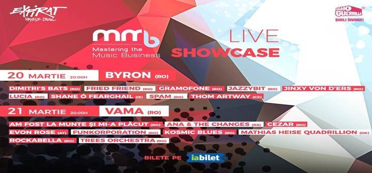 Mastering the Music Business - MMB 2018 Live Showcase